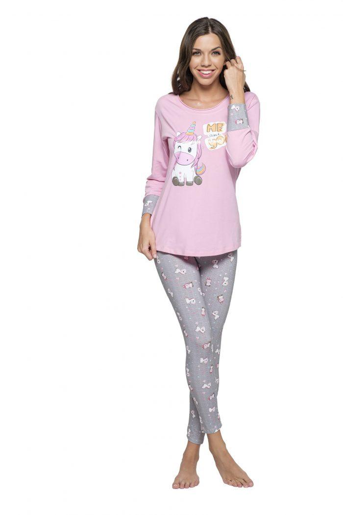 Dámske pyžamo MADELINE JEDNOROŽEC značky Poppy Lingerie.