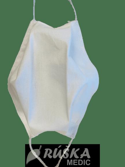 Bavlnené dvojvrstvové rúška na tvár