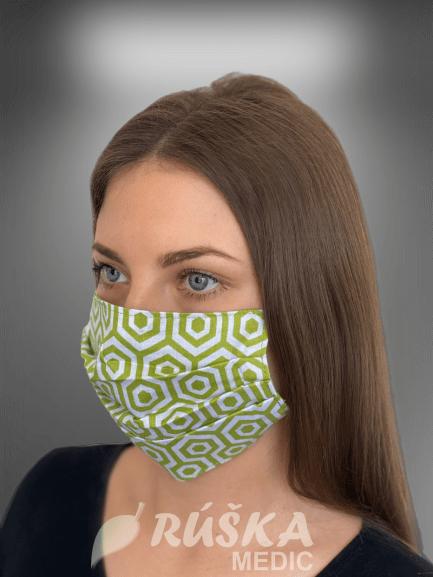 Bavlnené rúška na tvár