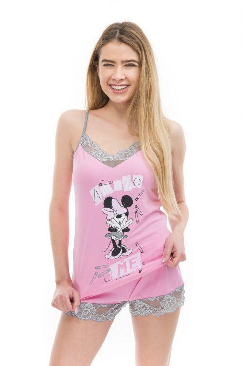 Dámske pyžamo Minnie značky Poppy Lingerie.