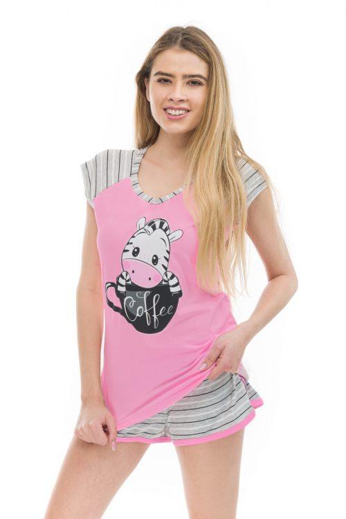 Dámske pyžamo Zebra značky Poppy Lingerie.