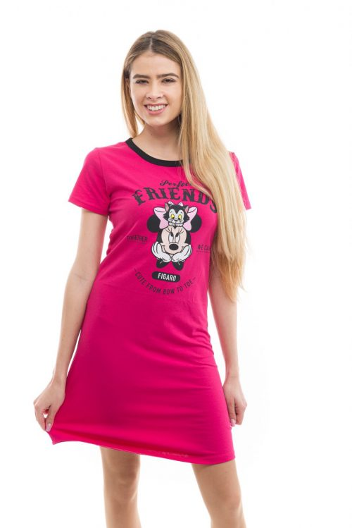 Dámska nočná košeľa MINNIE značky Poppy Lingerie.
