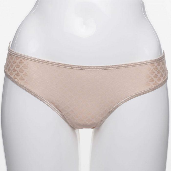 Dámske béžové nohavičky SALLY značky Poppy Lingerie.