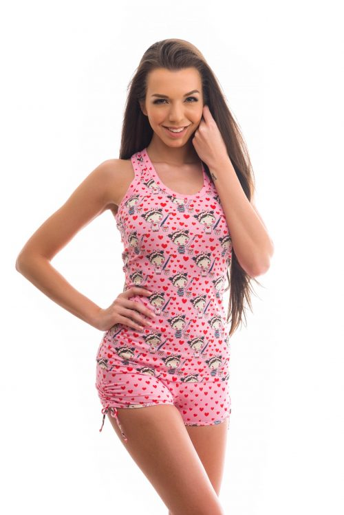 Dámske pyžamo značky Poppy Lingerie