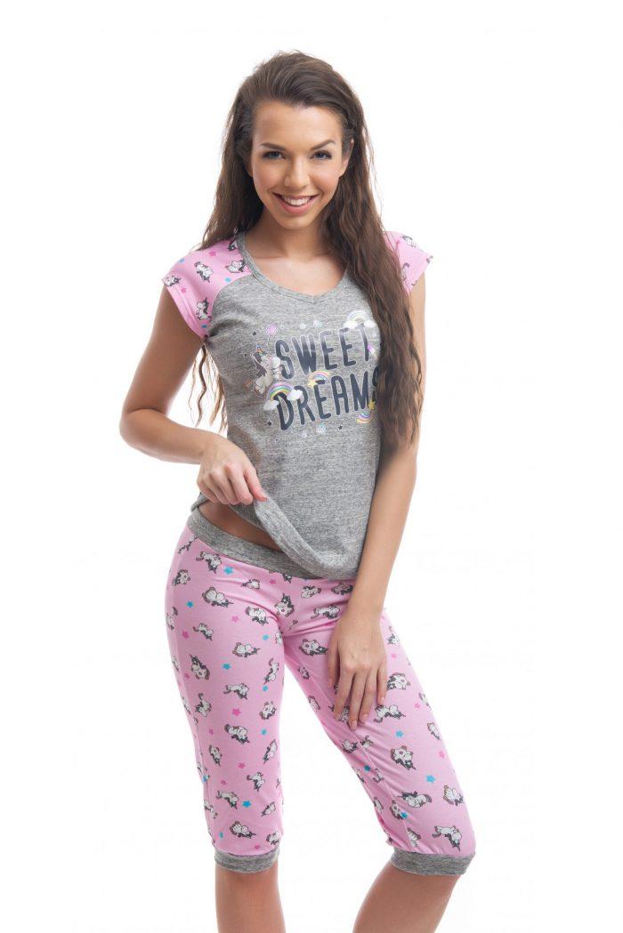 Dámske pyžamo FUNKY UNICORN