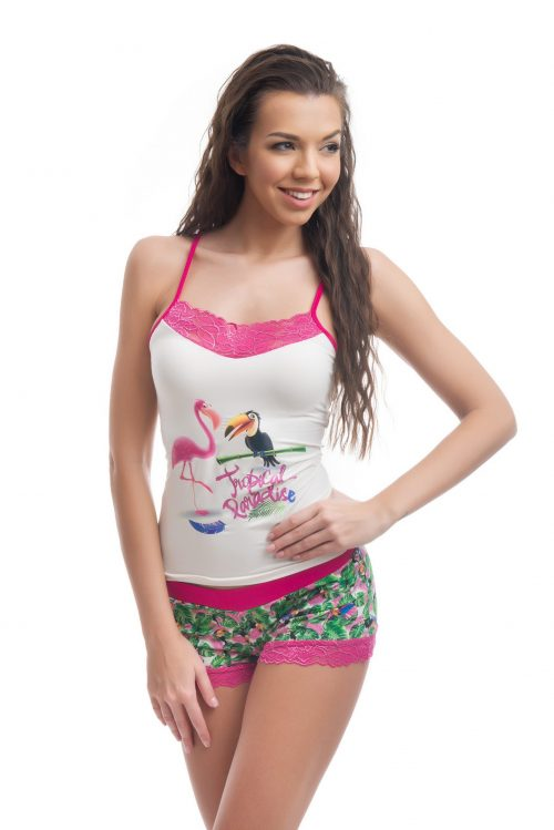 Dámske pyžamo značky Poppy Lingerie.