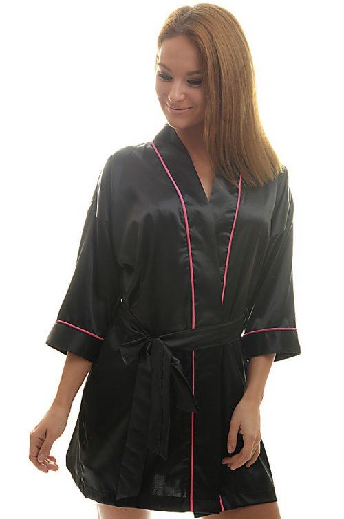 Dámske saténové kimono - 01|Dámske saténové kimono - 01