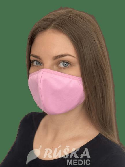 Bavlnené antibakteriálne rúška na tvár