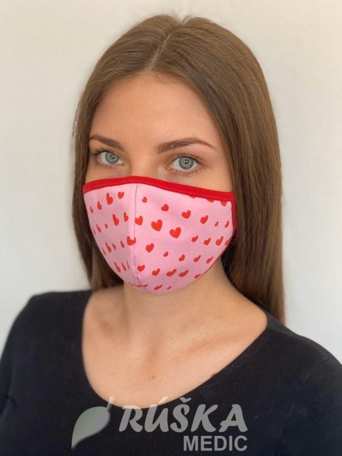 Bavlnené a ochranné rúška na tvár