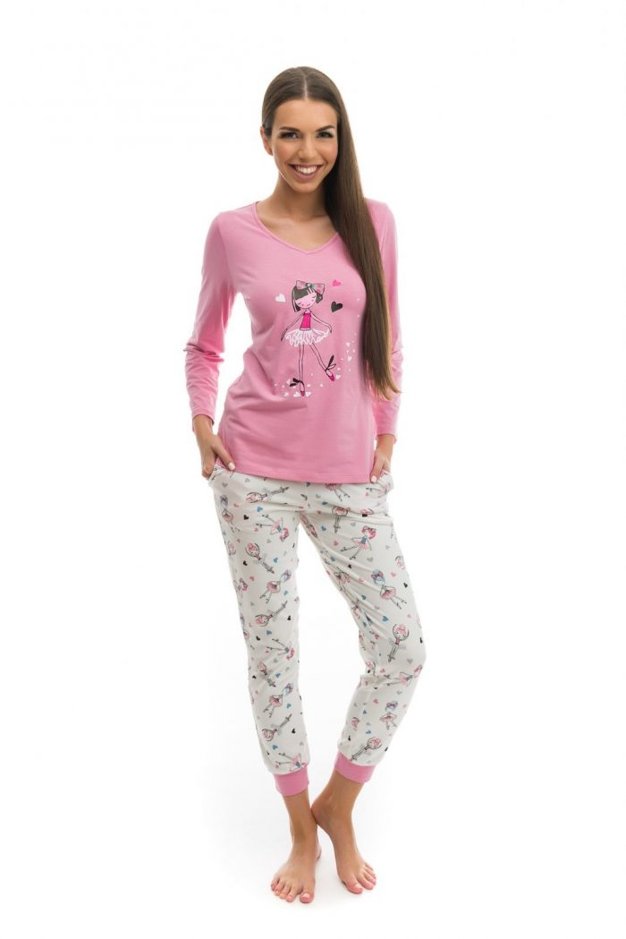 dámske-pyžamo-chill-balerína-2