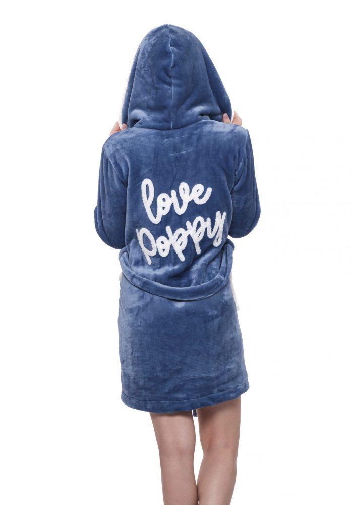 Dámsky župan LOVE POPPY|Dámsky župan LOVE POPPY (Kópia)