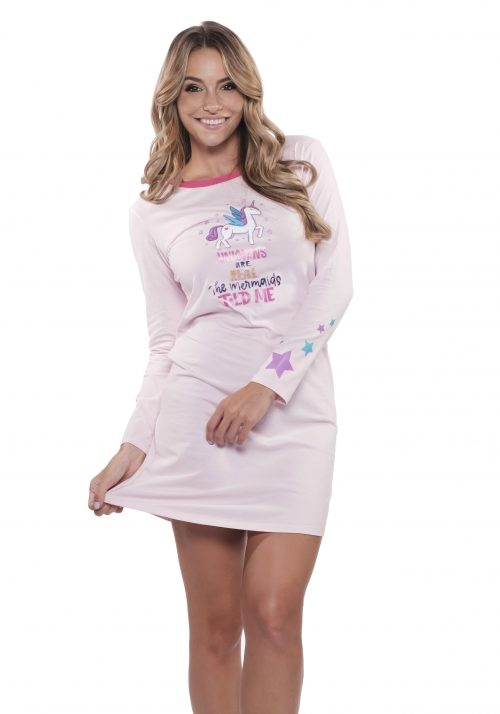 Dámska nočná košeľa BEGY BE UNICORN