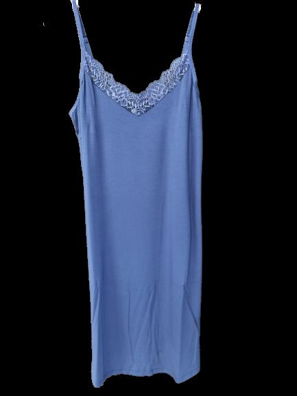 Dámska nočná košeľa LINDA BLUE|Dámska nočná košeľa LINDA BLUE