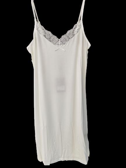 Dámska nočná košeľa LINDA ECRU|Dámska nočná košeľa LINDA ECRU